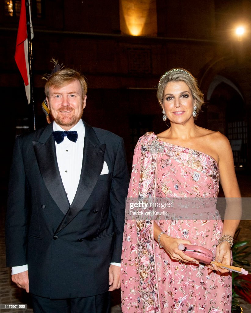 King Willem-Alexander Of The Netherlands And Queen Maxima : State Visit In Delhi : Day One : News Photo