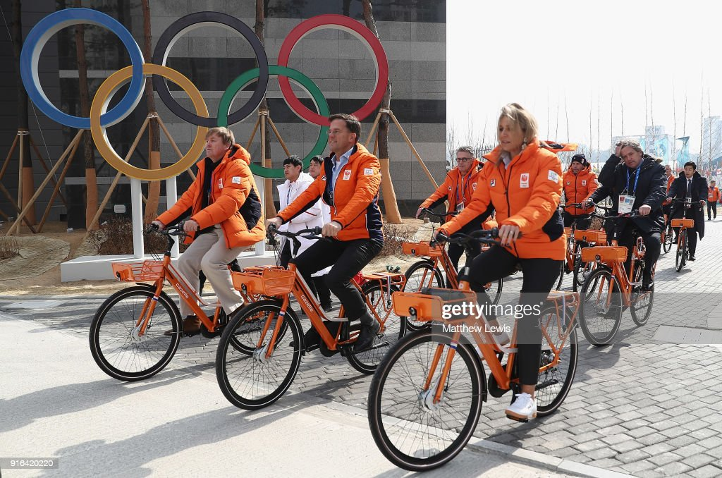 Around the Games: Day 1 - Winter Olympic Games : News Photo