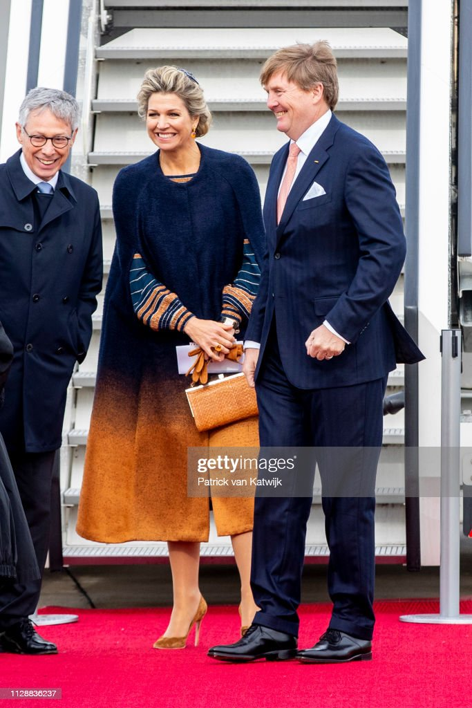King Willem-Alexander and Queen Maxima Of The Netherlands Visit Bremen, Germany : News Photo