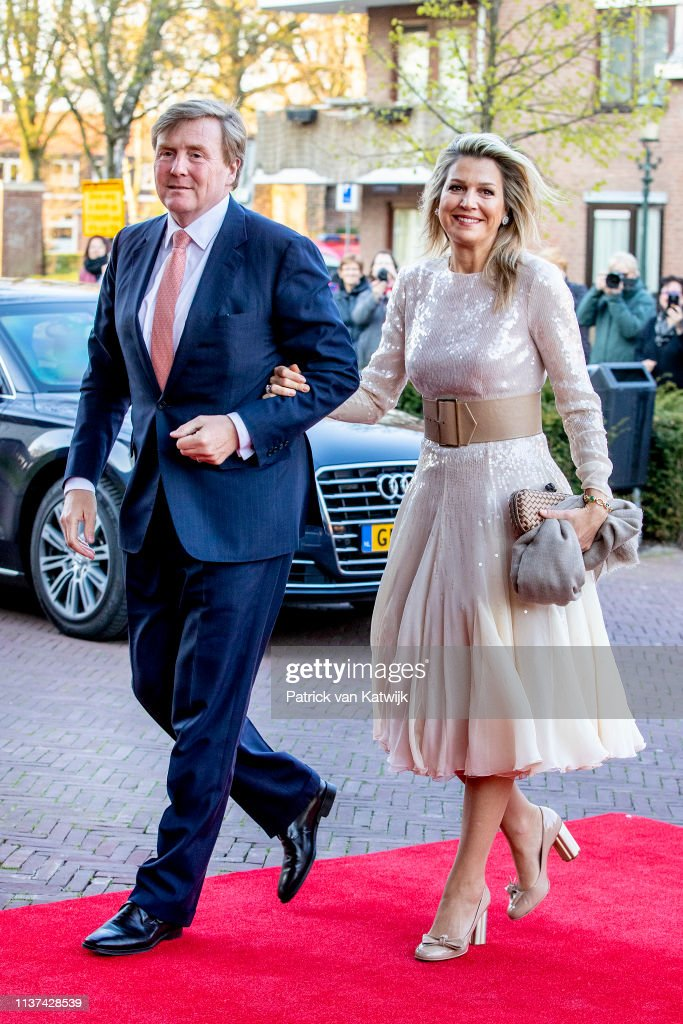 Dutch Royal Family Attends The Kingsday Concert At Amersfoort : Foto di attualità
