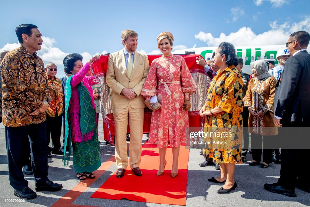 King Willem-Alexander Of The Netherlands And Queen Maxima - State Visit To Indonesia : Day Three : News Photo