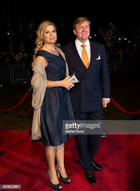 King WillemAlexander of The Netherlands and Queen Maxima of The Netherlands arrive at the Circus Theatre for celebrations of the 200th anniversary of...