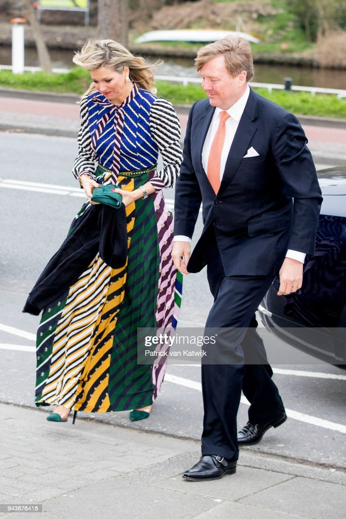 Dutch Royal Family Attends  Kingsday Concert In Groningen : Nieuwsfoto's