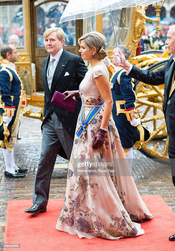 Prinsjesdag - Prince's Day - Celebration In The Hague : Nieuwsfoto's
