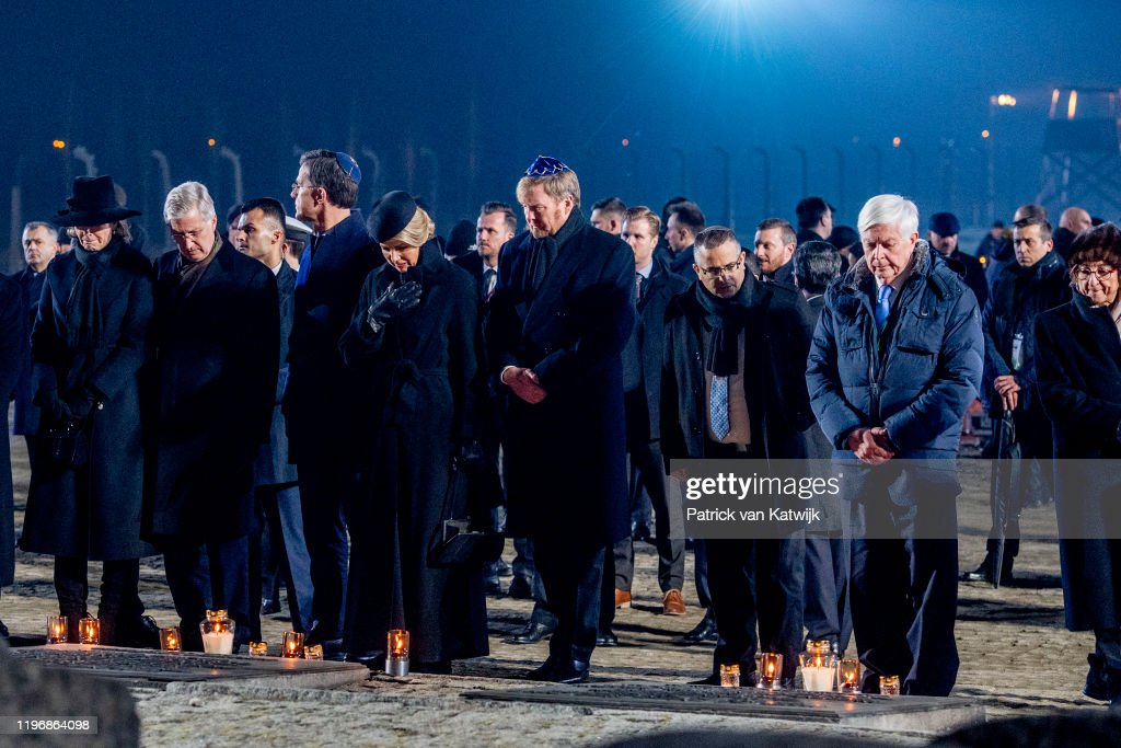 Auschwitz Memorial Commemorates 75th Anniversary Since Liberation : News Photo