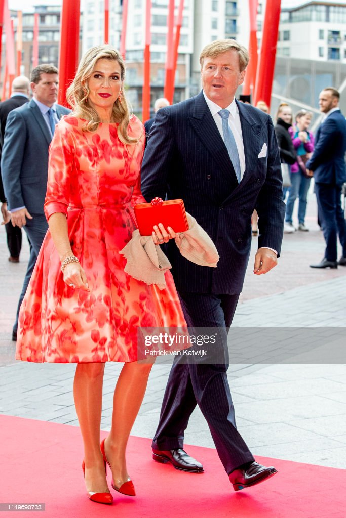 State Visit Of The King And Queen Of The Netherlands to Ireland Day Two : News Photo