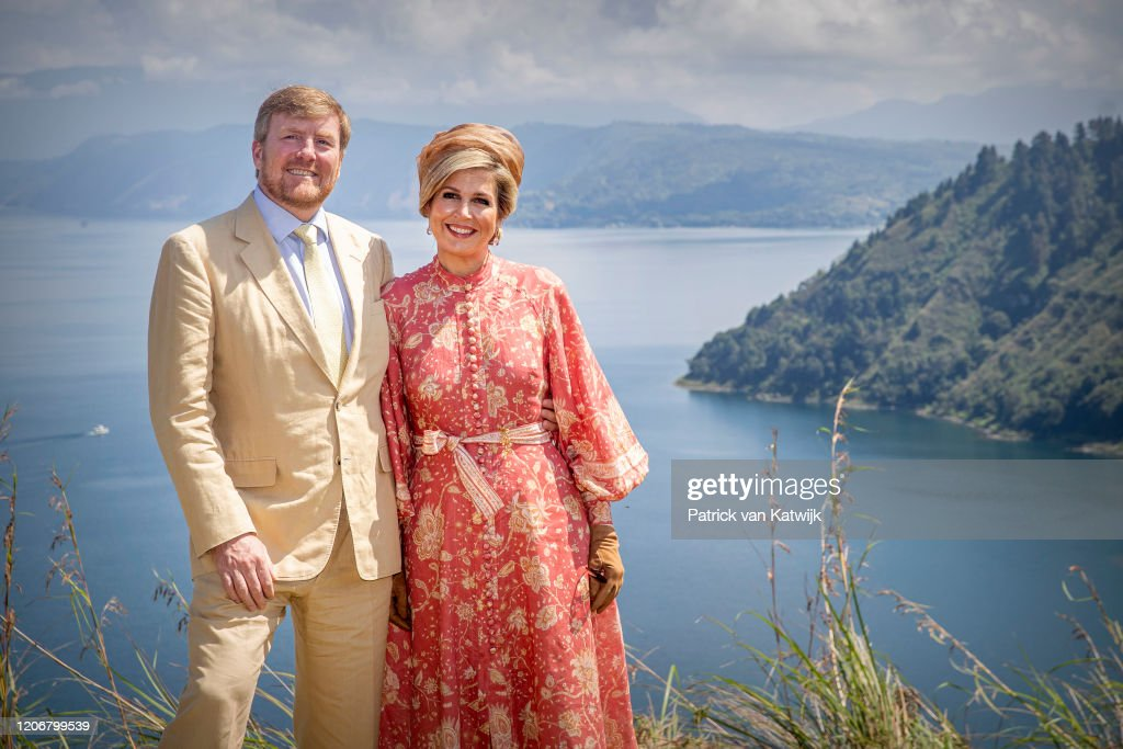 King Willem-Alexander Of The Netherlands And Queen Maxima - State Visit To Indonesia : Day Three : Foto di attualità