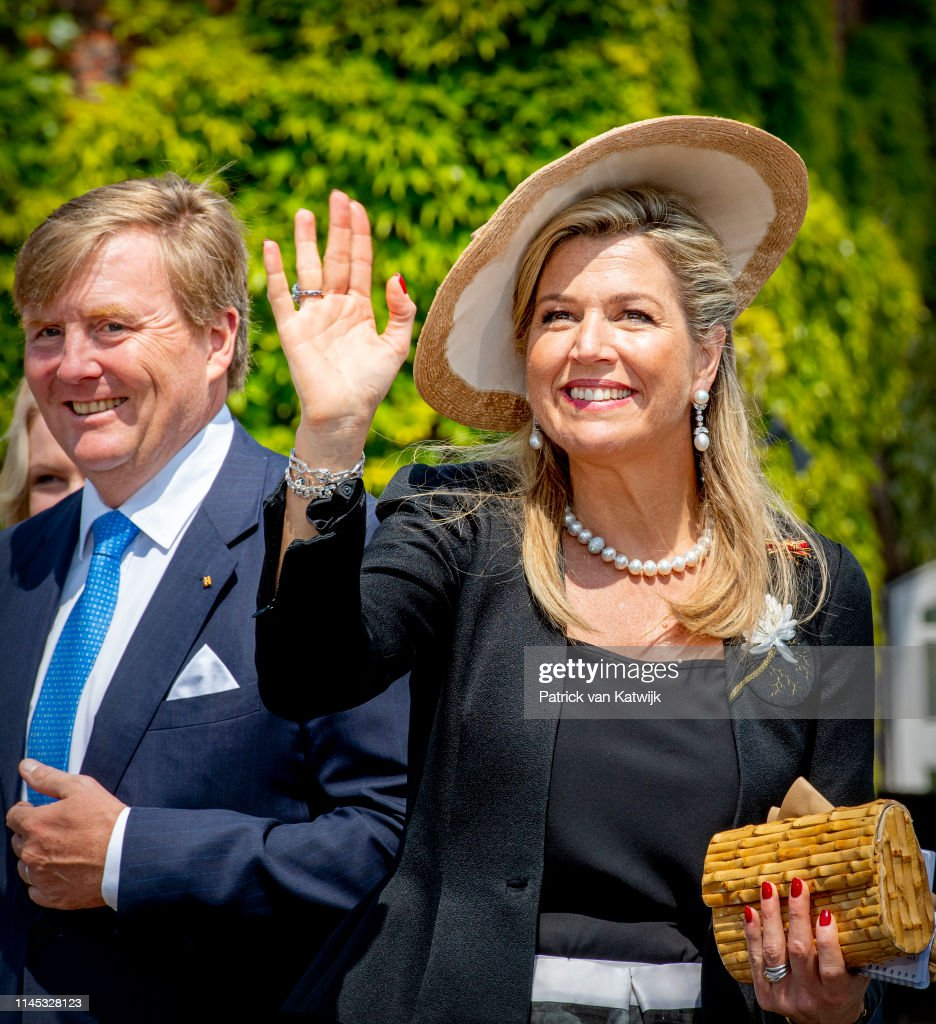 State Visit Of The King And Queen Of The Netherlands - Day Two : Nieuwsfoto's
