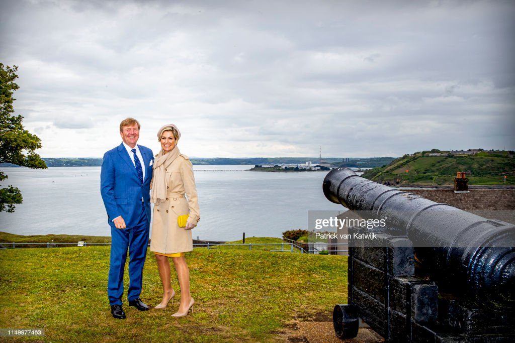 State Visit Of The King And Queen Of The Netherlands to Ireland Day Three : Nieuwsfoto's