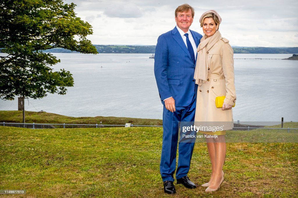 State Visit Of The King And Queen Of The Netherlands to Ireland Day Three : News Photo