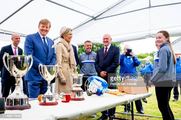 King WillemAlexander of The Netherlands and Queen Maxima of The Netherlands visit Camden Fort Meagher on June 14 2019 in Crosshaven Ireland