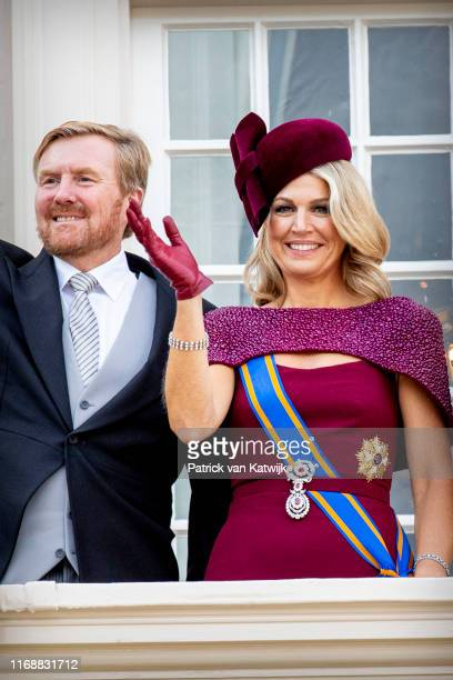 King WillemAlexander of The Netherlands and Queen Maxima of The Netherlands during Prinsjesdag the opening of the parliamentary year on September 17...