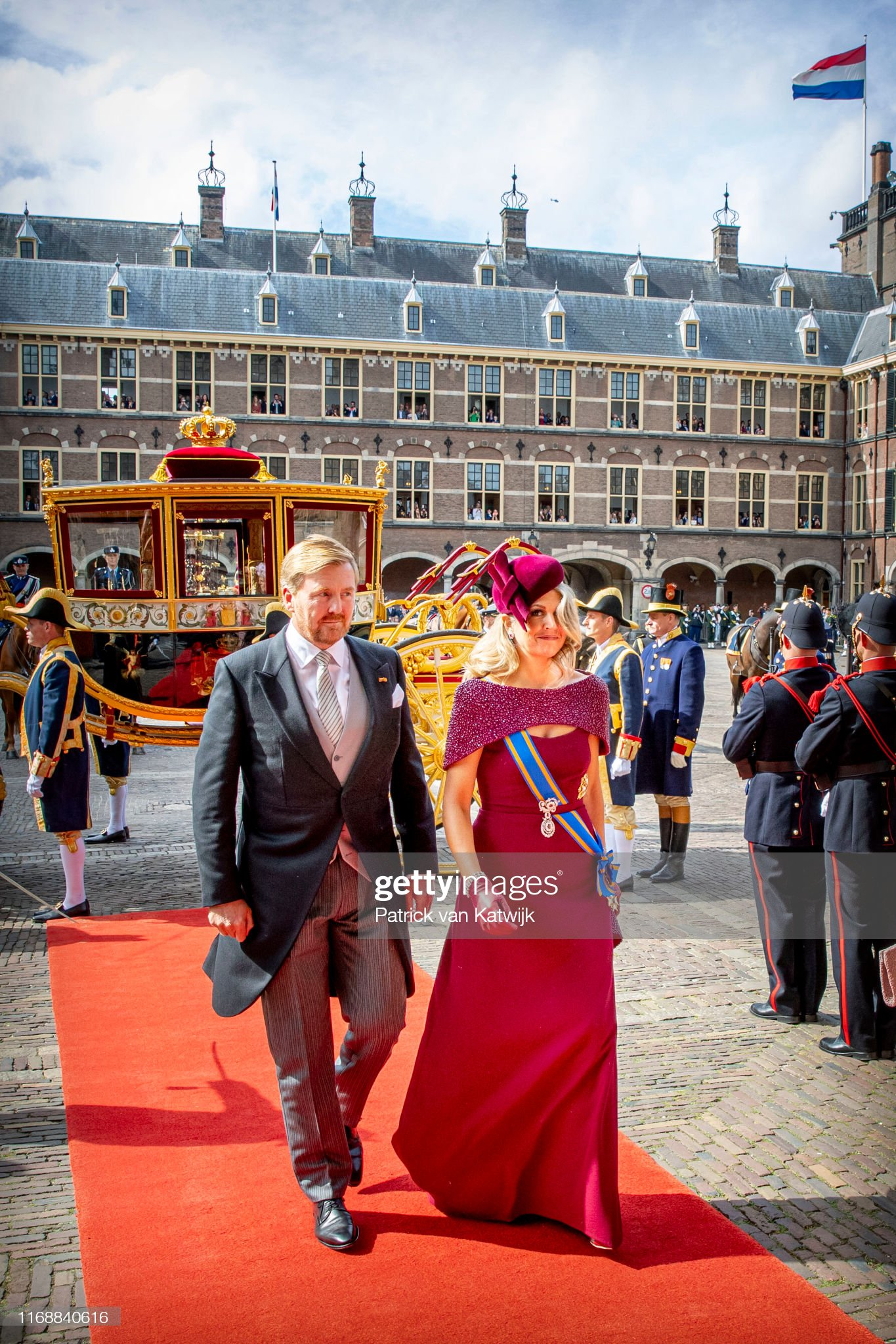 Dutch Royal Family Attends Prinsjesdag 2019 In The Hague : News Photo