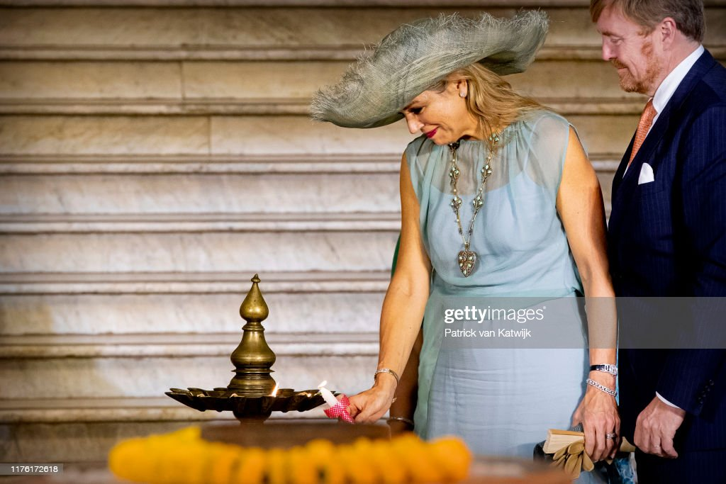 King Willem-Alexander Of The Netherlands And Queen Maxima : State Visit : Day Three In Mumbai : Nieuwsfoto's