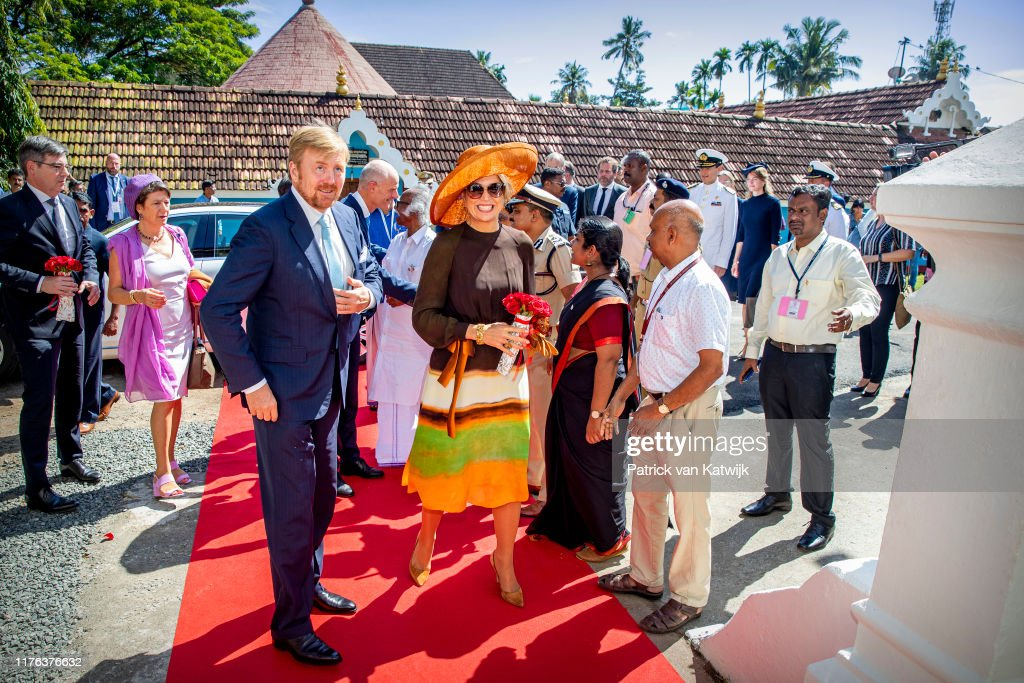 King Willem-Alexander Of The Netherlands And Queen Maxima : State Visit : Day Four In India : Nieuwsfoto's