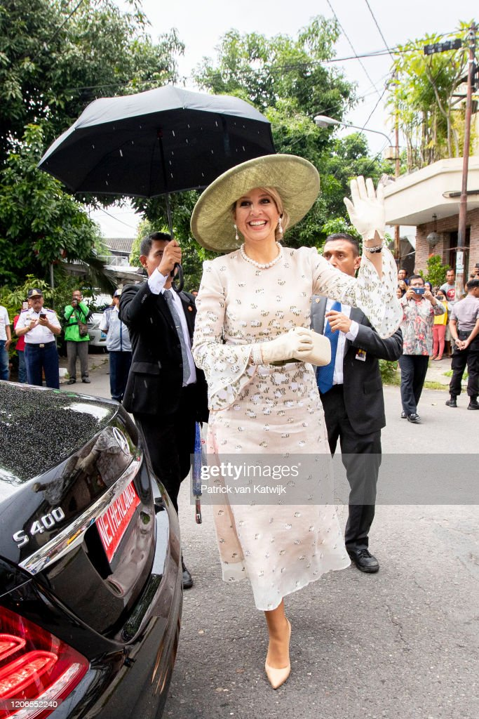 King Willem-Alexander Of The Netherlands And Queen Maxima : State Visit To Indonesia : Day Two : Foto di attualità
