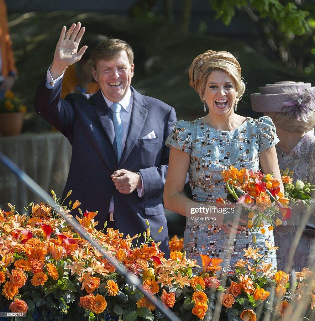 The Netherlands Celebrate Kingsday In De Rijp : ニュース写真