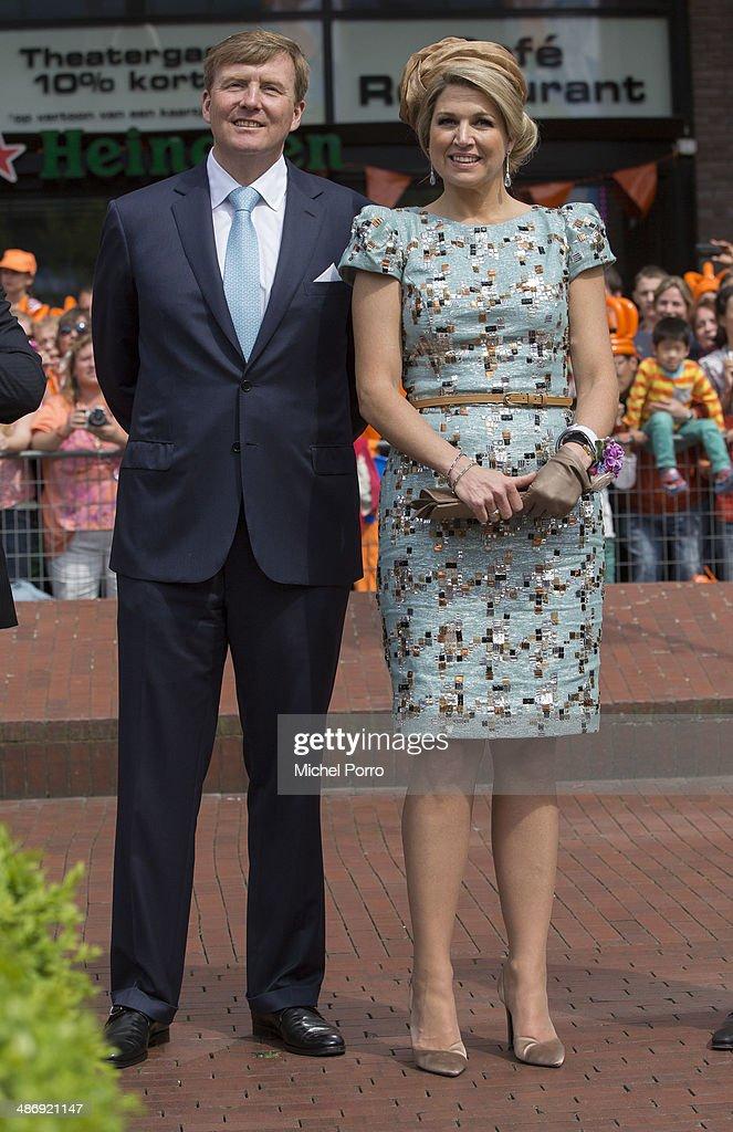 The Netherlands Celebrate Kingsday In Amstelveen : News Photo