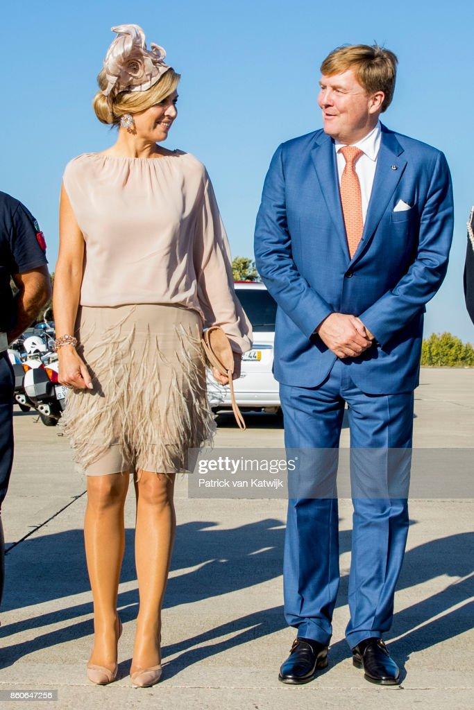 Day 3 - Dutch Royals Visit Portugal : News Photo