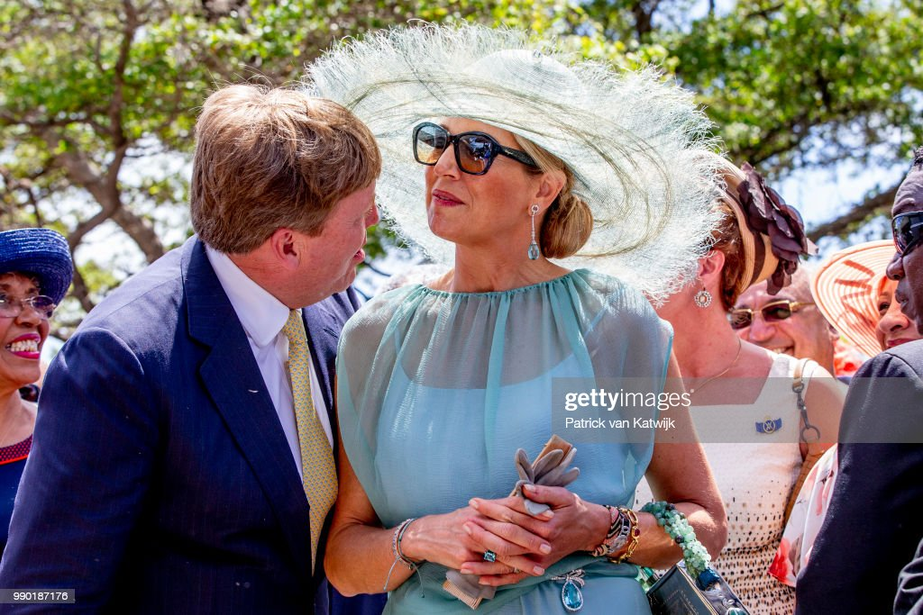 King Willem-Alexander Of The Netherlands and Queen Maxima Netherlands Visit Curacao : News Photo