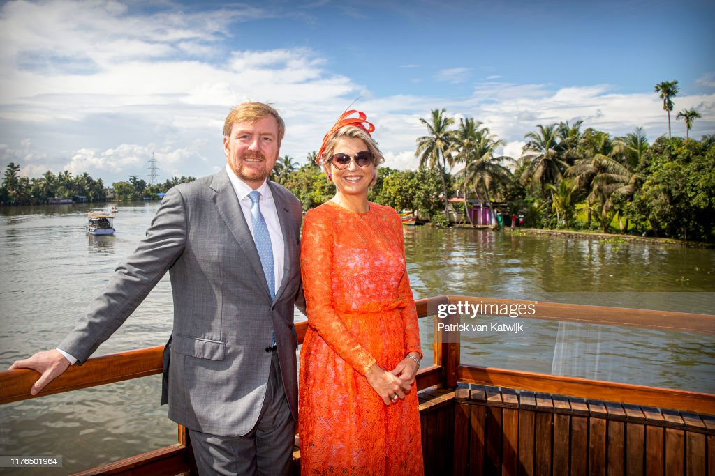 King Willem-Alexander Of The Netherlands And Queen Maxima State Visit To India - Day 5 : News Photo