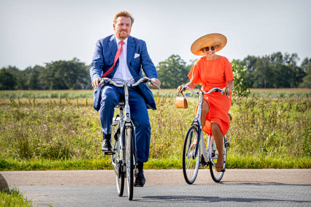 NLD: King Willem-Alexander Of The Netherlands And Queen Maxima Of The Netherlands Visit Friesland Region