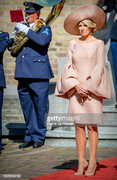 King WillemAlexander of The Netherlands and Queen Maxima of The Netherlands attend the military ceremony of the Willemsorde the highest military...