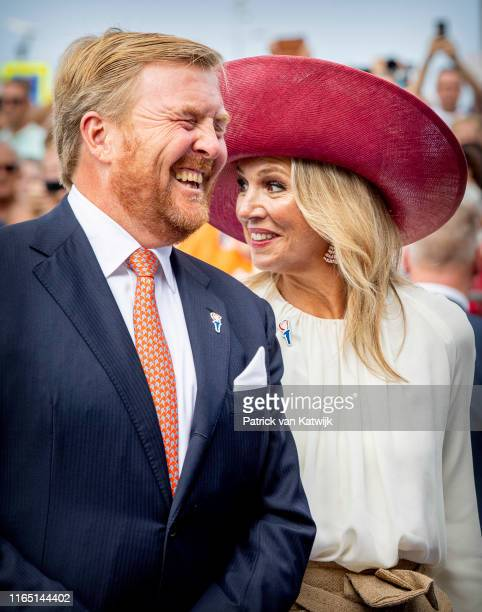 King WillemAlexander of The Netherlands and Queen Maxima of The Netherlands attend the 75th anniversary of the liberation of The Netherlands in...