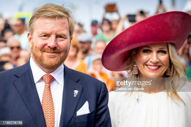 King Willem-Alexander of The Netherlands and Queen Maxima of The Netherlands attend the 75th Anniversary of Zeeland Liberation from the Nazis on...