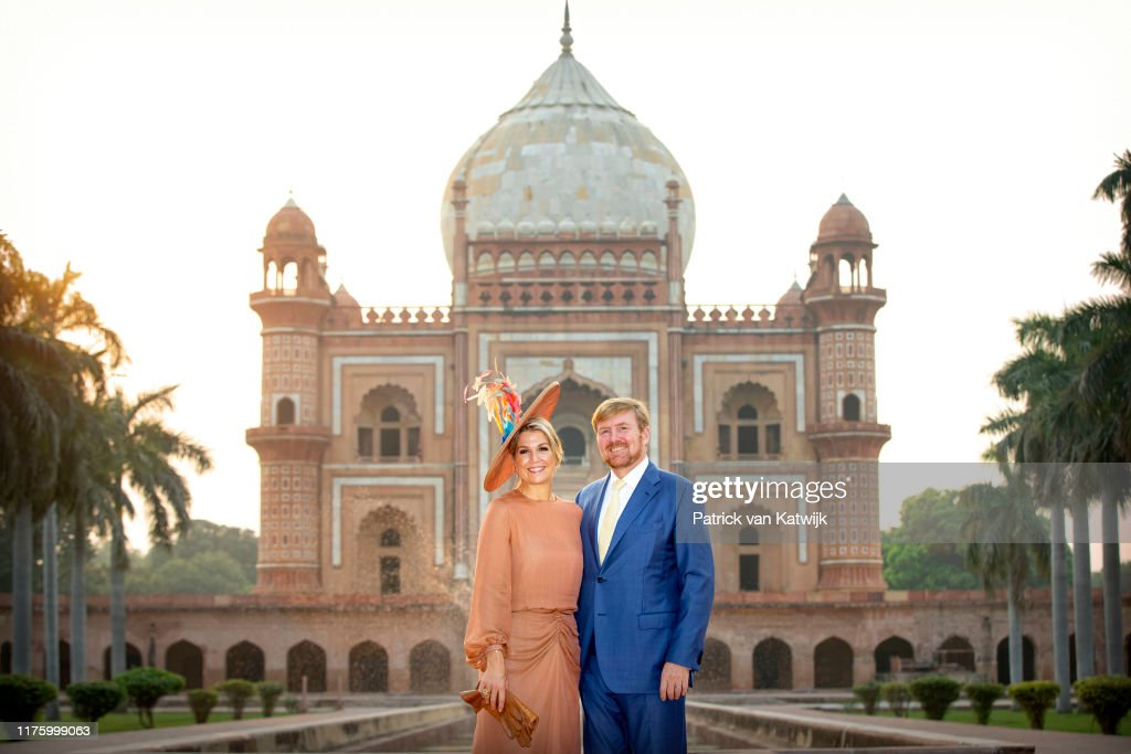 King Willem-Alexander Of The Netherlands And Queen Maxima : State Visit In Delhi : Day Two : Nieuwsfoto's