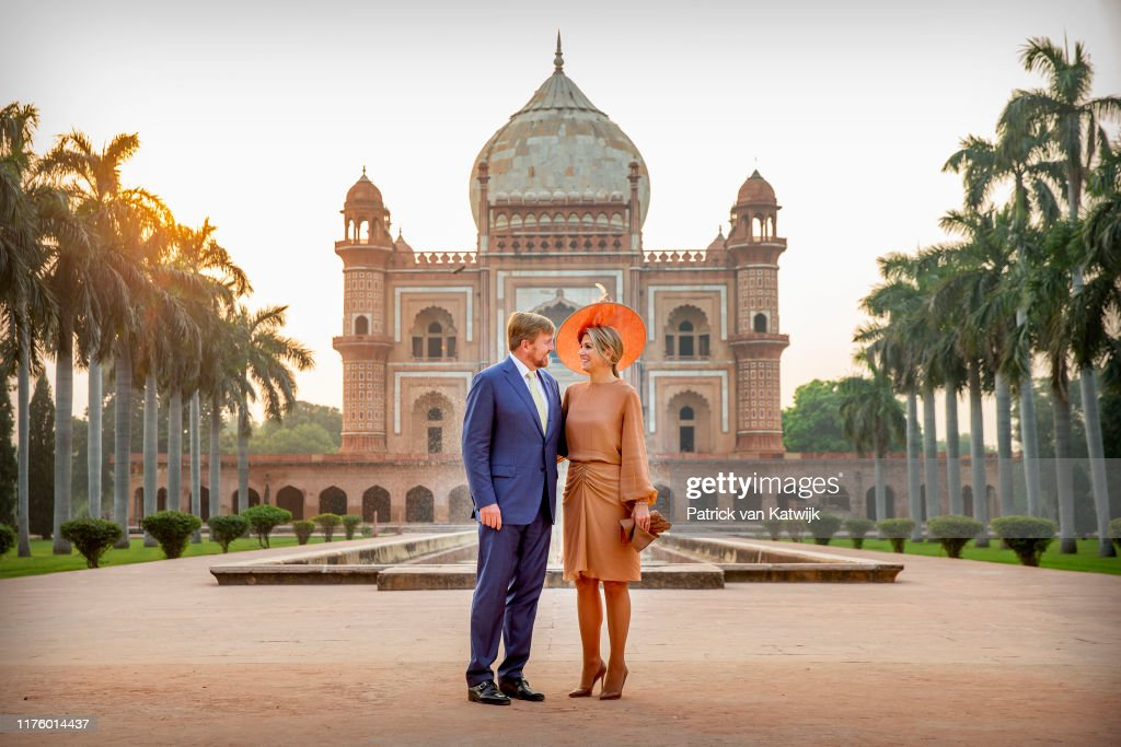 King Willem-Alexander Of The Netherlands And Queen Maxima : State Visit In Delhi : Day Two : News Photo