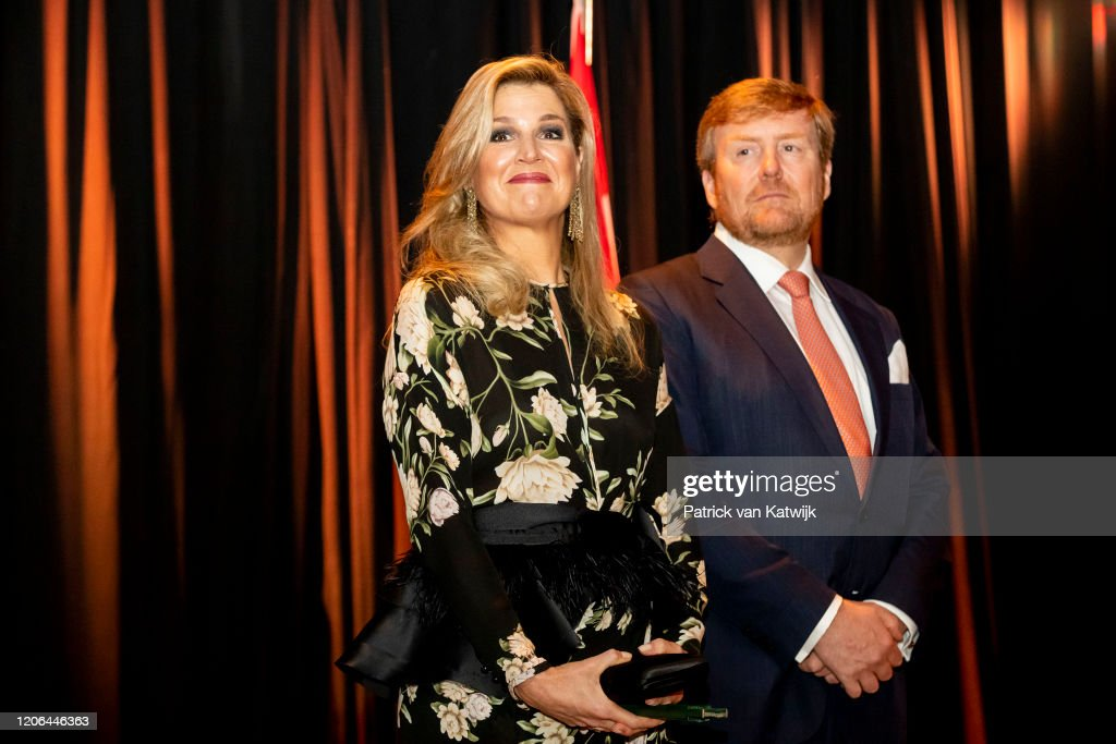 King Willem-Alexander Of The Netherlands And Queen Maxima : State Visit To Indonesia : Day One : Foto di attualità