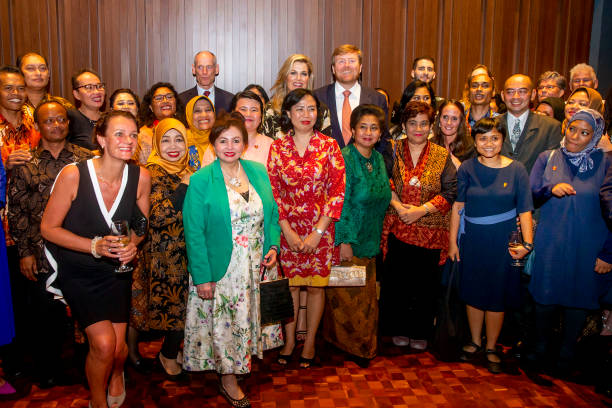 IDN: King Willem-Alexander Of The Netherlands And Queen Maxima : State Visit To Indonesia : Day One