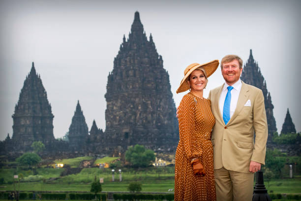 IDN: King Willem-Alexander Of The Netherlands And Queen Maxima : State Visit To Indonesia : Day Two