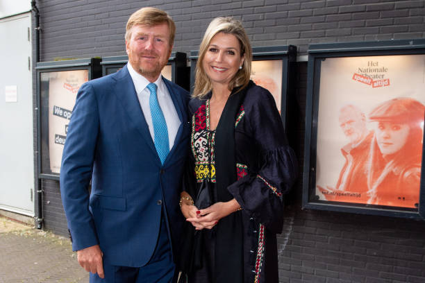 NLD: King Willem-Alexander Of The Netherlands And Queen Maxima Visit National Theater In The Hague