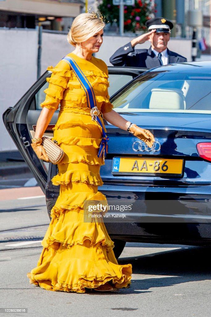 Dutch Royal Family Attends Prinsjesdag 2020 in The Hague : Foto di attualità