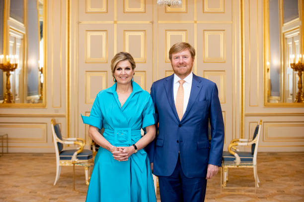 NLD: King Willem-Alexander Of The Netherlands And Queen Maxima Attend The Appeltjes Van Oranje Award Ceremony
