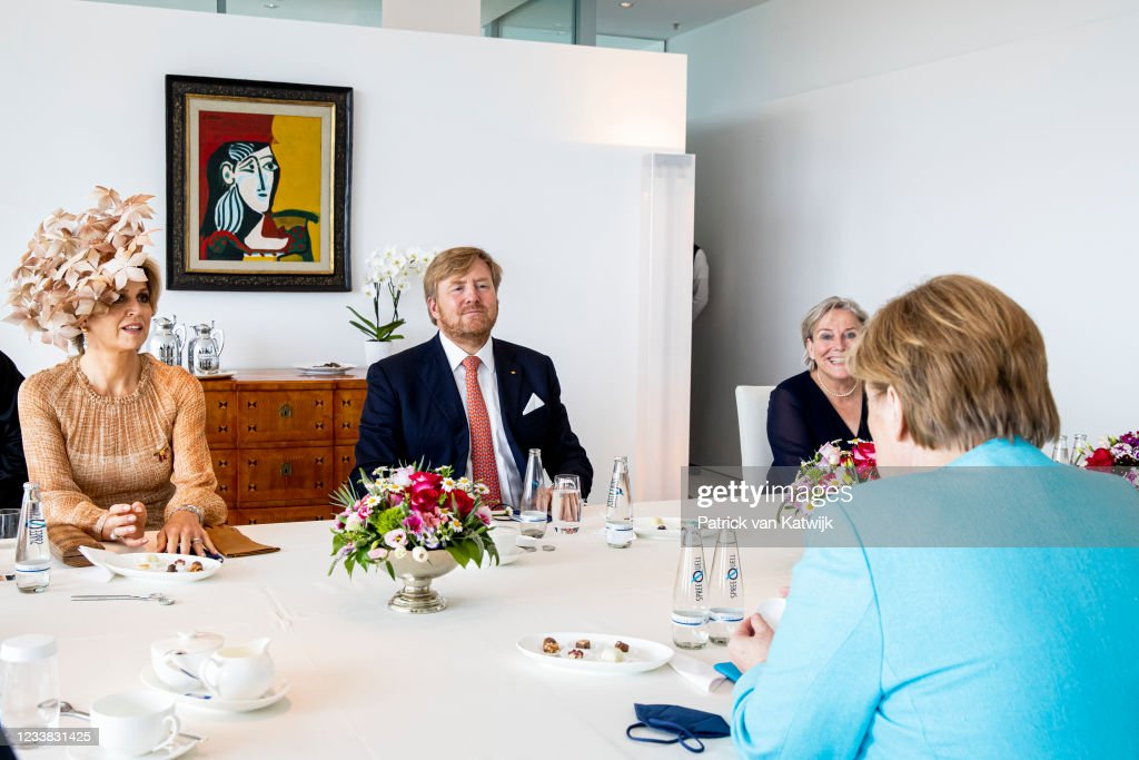 King Willem-Alexander Of The Netherlands And Queen Maxima Visit Berlin - Day Two : Nieuwsfoto's