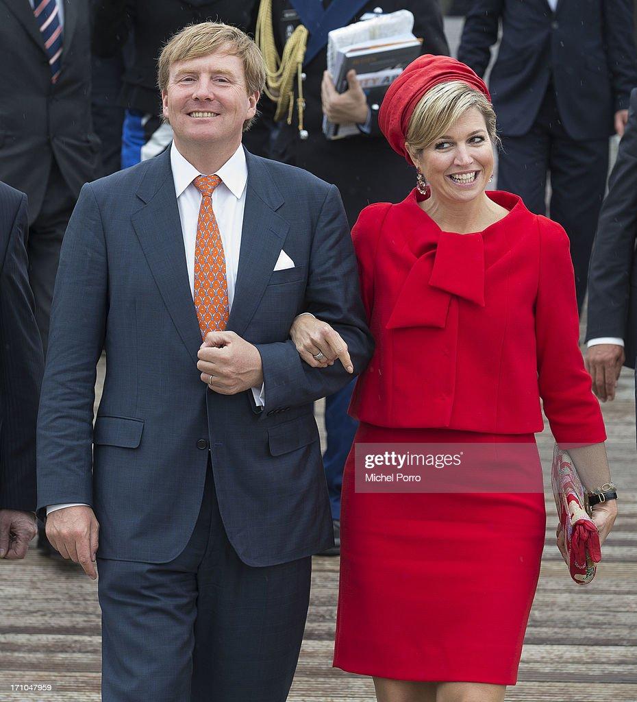 Image result for queen maxima necktie red jacket