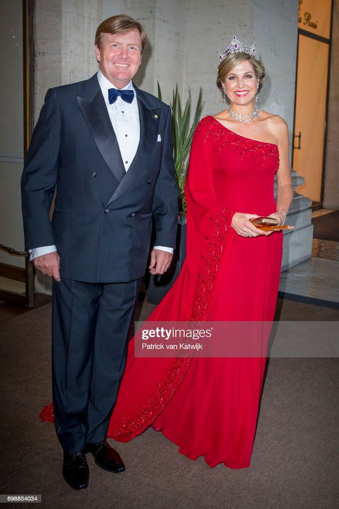 King And Queen Of The Netherlands Visit Italy : Day One : ニュース写真