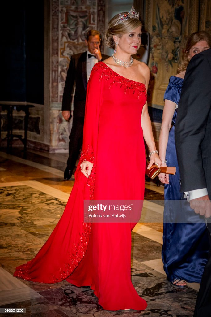 King And Queen Of The Netherlands Visit Italy : Day One : News Photo