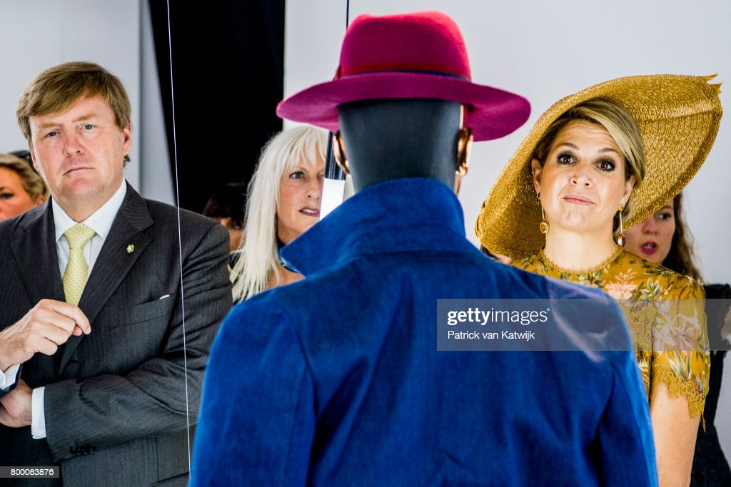 King And Queen Of The Netherlands Visit Italy : Day Four : Nieuwsfoto's