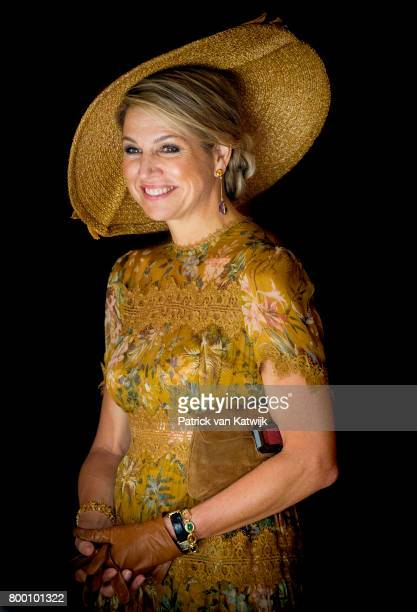 King WillemAlexander of The Netherlands and Queen Maxima of The Netherlands visit the Design Museum Triennale where the King and the Queen get...