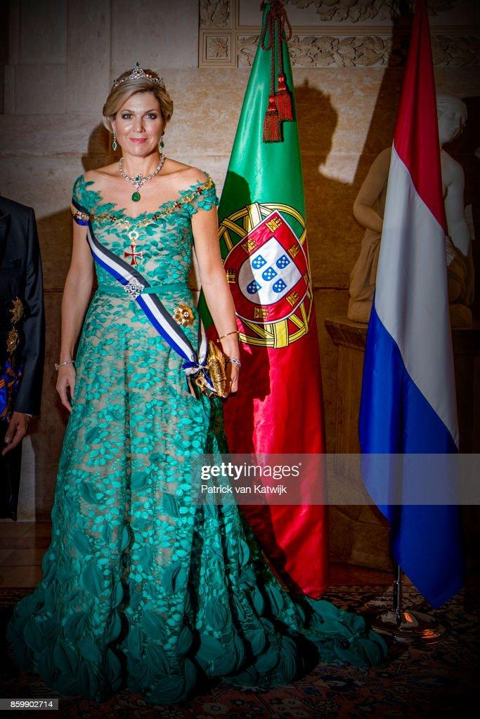 Day 1 - Dutch Royals Visit Portugal : News Photo