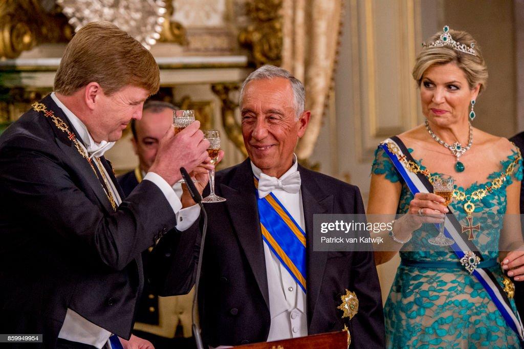 Day 1 - Dutch Royals Visit Portugal : Nieuwsfoto's