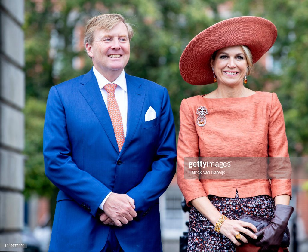 State Visit Of The King And Queen Of The Netherlands to Ireland Day Two : Nieuwsfoto's