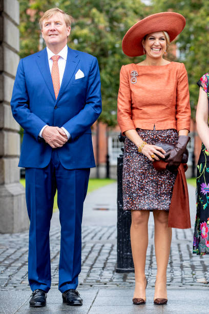 IRL: State Visit Of The King And Queen Of The Netherlands : Day Two