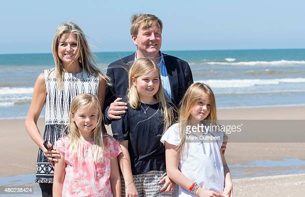 King WillemAlexander of the Netherlands and Queen Maxima of the Netherlands with Princess Ariane of the Netherlands Crown Princess CatharinaAmalia...