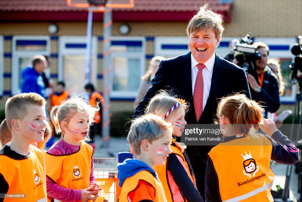 NLD: King Willem-Alexander Of The Netherlands Attends The King Games In Lemmer