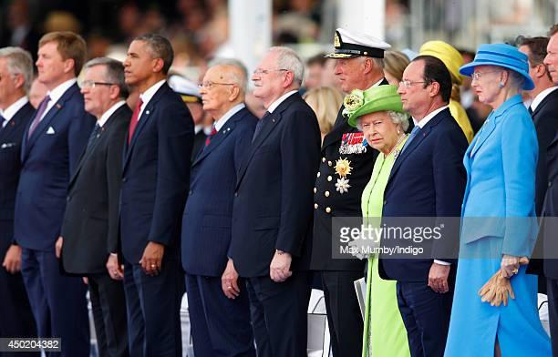 King WillemAlexander of The Netherlands Polish President Bronislaw Komorowski US President Barack Obama Italian President Giorgio Napolitano...